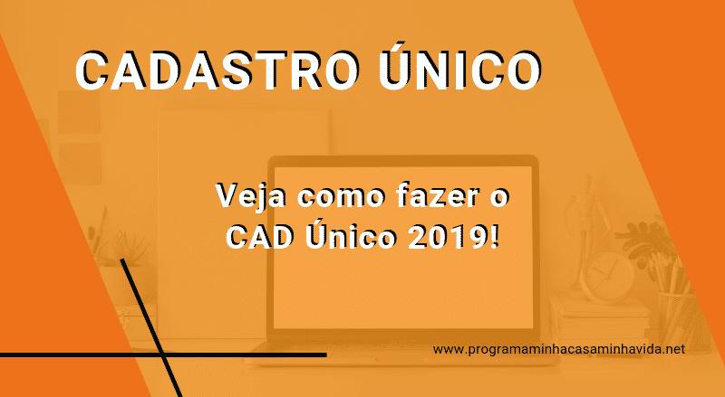 Cadastro Único CAD Único 2021
