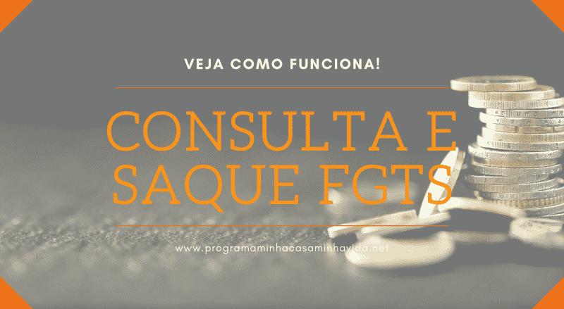Consulta e Saque FGTS
